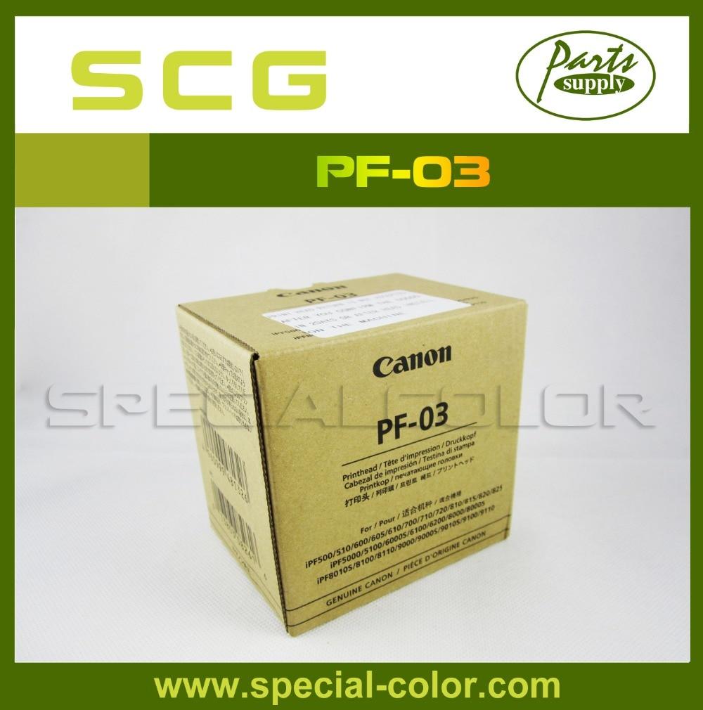 Brand New PF-03 Printhead IPF 8100/8110 Print Head for Canon 9000/9000S/9010S/9100/9110 original new printhead pf 03 for canon ipf 5000 6000 5100 6100 8010s 8000 8000s 700 710 610 600 9010s 9110 9000s printer head