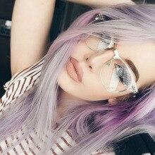 Classic Cat Eye Glasses Frame Fashion Gafas Transparente Women Eyeglasses Optical Men Half Fake Square