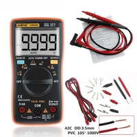 ANENG AN8009 True RMS Auto Range Digital Multimeter NCV Ohmmeter AC/DC Voltage Ammeter Current Meter temperature measurement