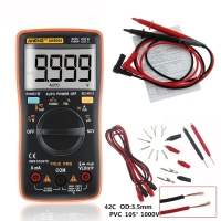 ANENG AN8009 True RMS Auto Range Digital Multimeter NCV Ohmmeter AC/DC Voltage Ammeter Current Meter temperature measurement