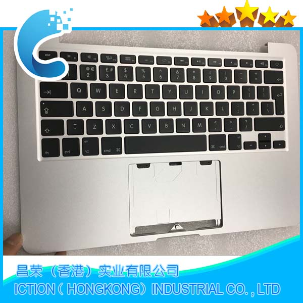 Original For Macbook Pro Retina 13 Topcase Palmrest With Keyboard UK Version A1502 2013 2014 new topcase with sp spanish keyboard for macbook pro retina 13 3 a1502 2013 2014 years