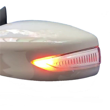 Door Wing Side rear view mirror flowing blinker sequential LED trip Dynamic turn signal light for nissan tiida teana sylphy