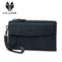 LIELANG Men Wallet Luxury Long Clutch Bag Male Leather Purse Men S Clutch Bags Large Capacity