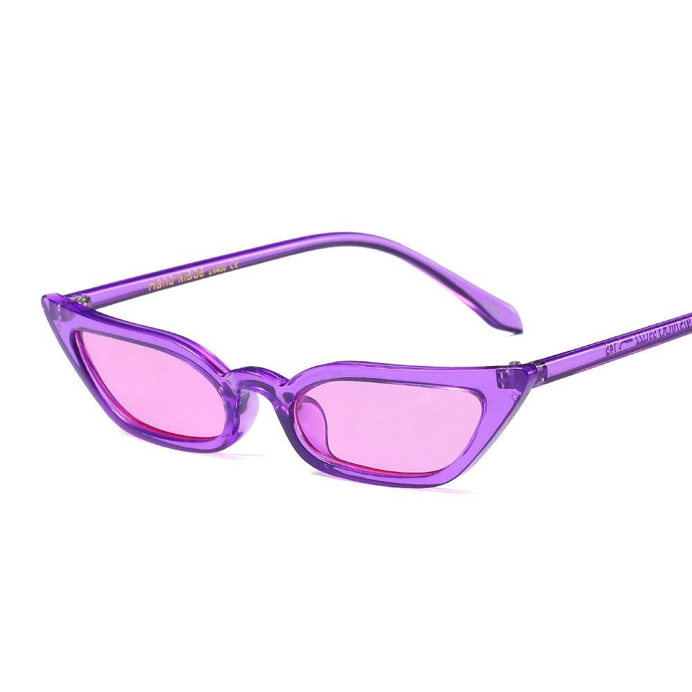 dd140f2f287c7b Nouveau Femmes Petit Cat Eye lunettes de Soleil 2018 Vintage Hommes De Mode  marque Designer Rouge Nuances Carré Lunettes de Soleil UV400 lunettes de  soleil ...