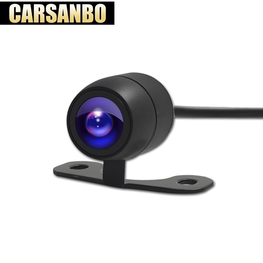 Carsanbo Original Car reversing camera butterfly plug in backup parking rear view reversing image night vision