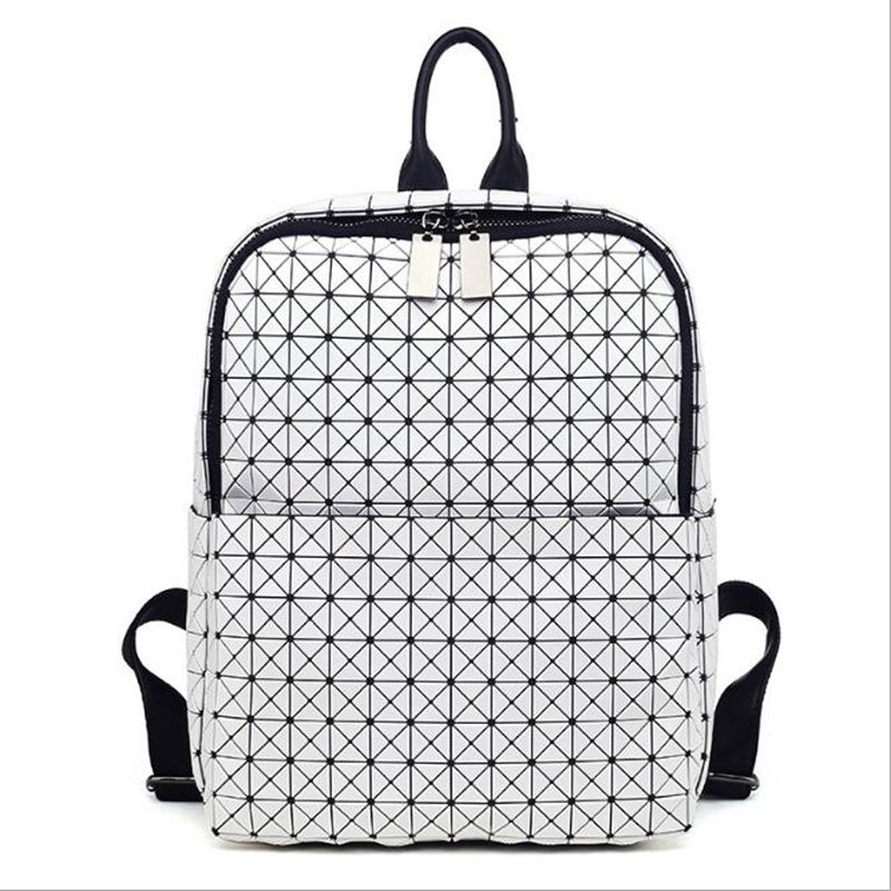 5 Colors Unisex Geometric Silica Backpack Bags Exclusive