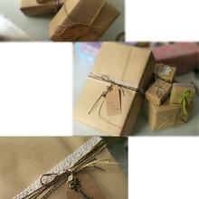 Обычная коричневая крафт-обертка на мыло ручной работы оберточная бумага подарочная упаковка обертка пинг бумага s 21*29 см