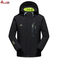 New Autumn Winter Jacket Men Thicken Warm Soft Shell Waterproof Windproof Down Coat Men S Jacket