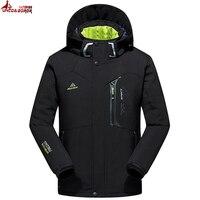 New Autumn Winter Jacket Men Thicken Warm Soft Shell Waterproof Windproof Down Coat Men S Jacket