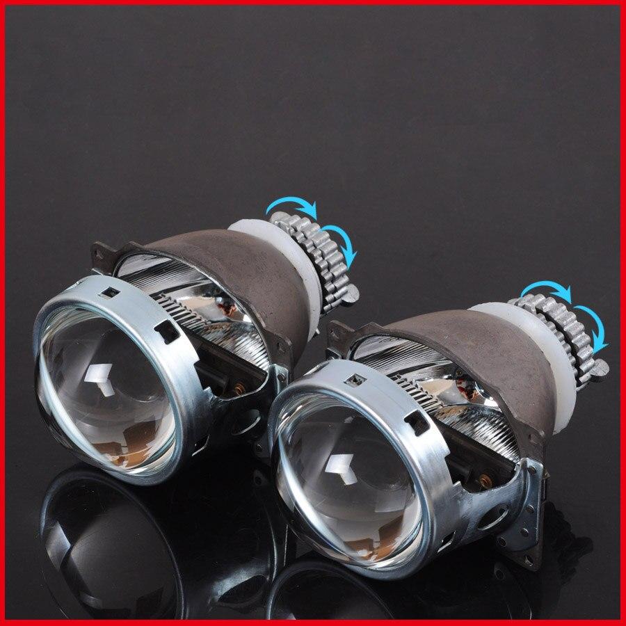 Ownsun 2шт H4 Q5 Би-Ксеноновые фары Дооснащения объектив проектора без лампы и Балласты