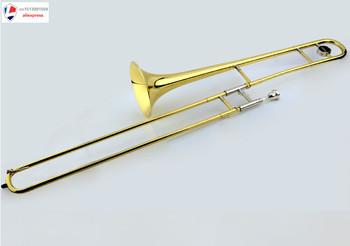 Mall oryginalne dźwięki instrumentów muzycznych JBSL-700 bB puzon tenorowy puzon dożywotnia gwarancja tanie i dobre opinie Edelweiss JBST 700 Złoty lakier Żółty mosiądzu STAINLESS STEEL