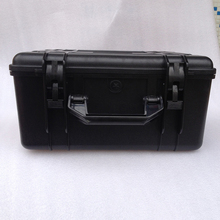 ABS material hard plastic tool case shockproof waterproof tool box for multimeter hard plastic carrying tool case