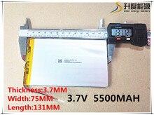 3.7 V 5500 mah batería de la tableta de marca tableta gm Tableta de la batería de polímero de litio 3775131