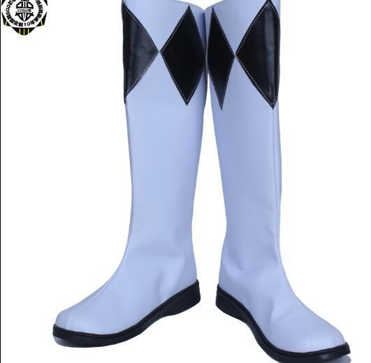 Mammoth Ranger Goushi Cosplay Zyuranger Boots Superhero Shoes Cosplay Costume Accessory Props Halloween Carnival Adult