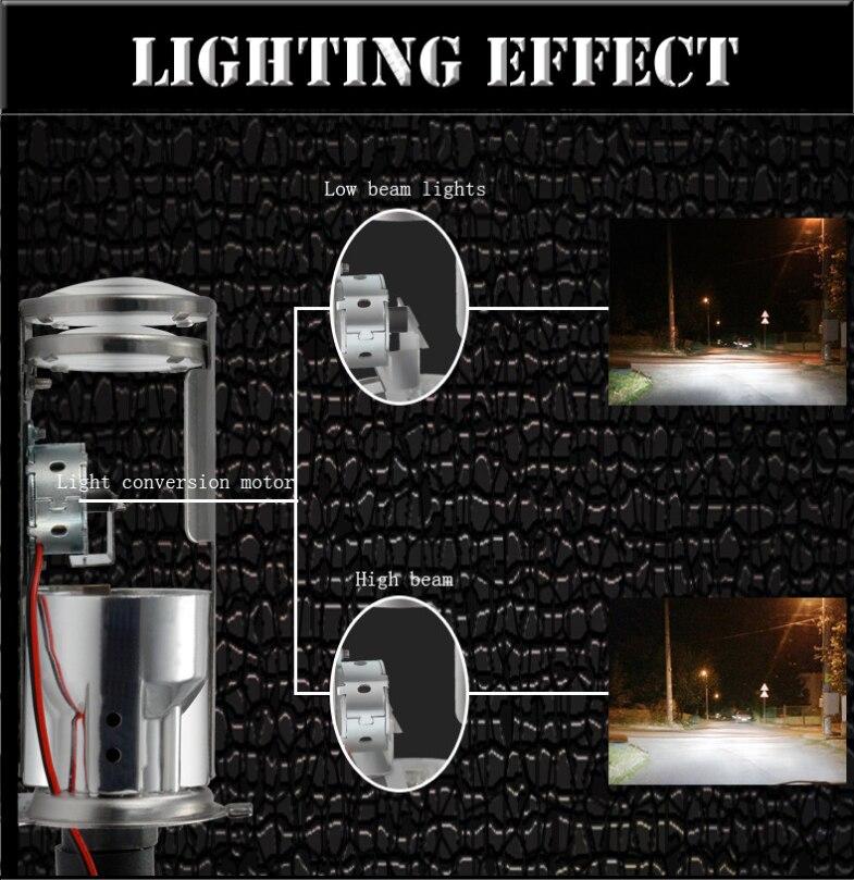 projetor lente dupla mortalhas