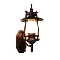 Винтаж китайская стена лампы двор вне балкон висит керосин магазин бутылку фонарь Водонепроницаемый Открытый лампы LU724207