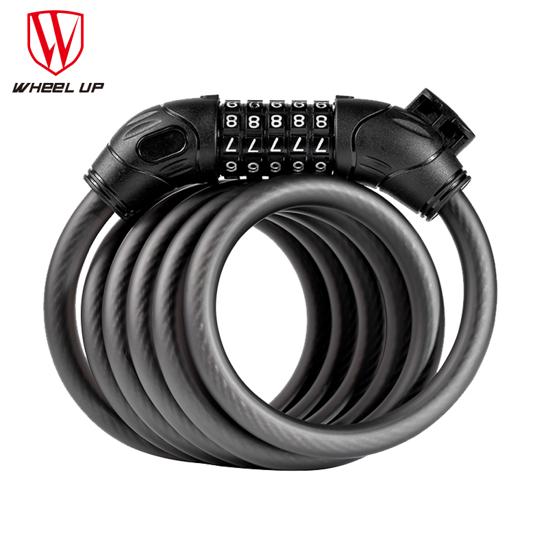 2017 Hot Sale Bicycle Lock Anti Theft Lock Password Cable