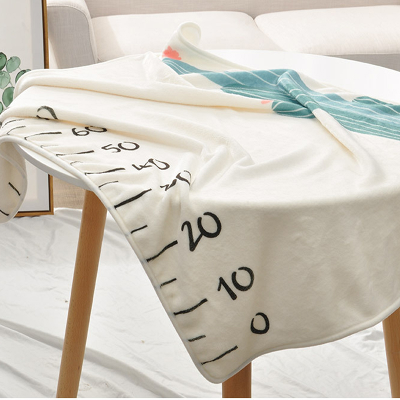 Infant Baby Milestone Blanket Photo Photography Prop Blankets Backdrop Cloth Calendar Boy Girl Photo Accessories 70*102CM 12
