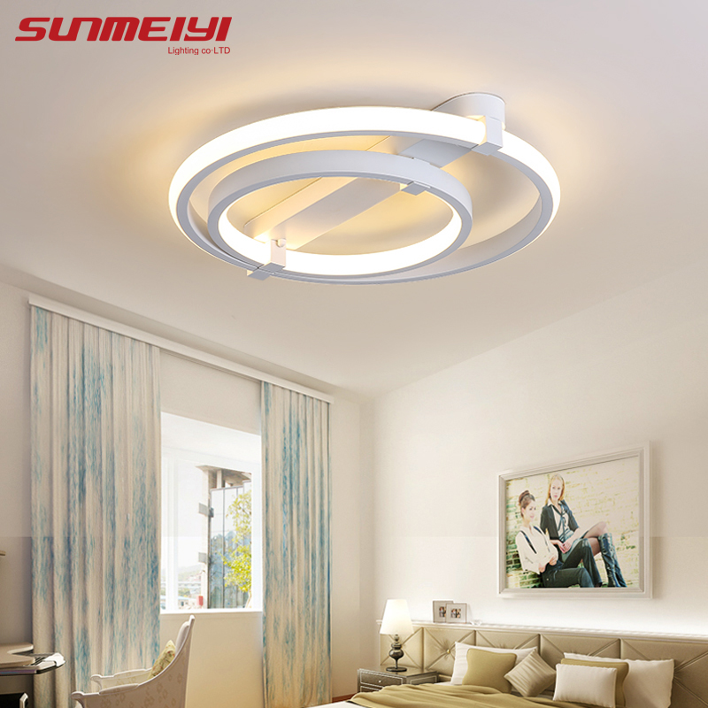 Modern Led Ceiling Lights For Living Room Bedroom Luminaria Ceiling Lamp Home Lighting Lamparas De Techo Remote Control Dimming new modern led ceiling lights for living room bedroom plafon home lighting combination white and black home deco ceiling lamp