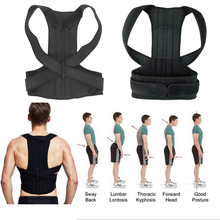 Spine Back Support Belt Sports Equipment Shoulder Postural Protector Lumbar Corset Women Men For Backache