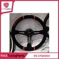 OMO Modificación Del Coche de Carreras Volante de Cuero Material RS-STW004