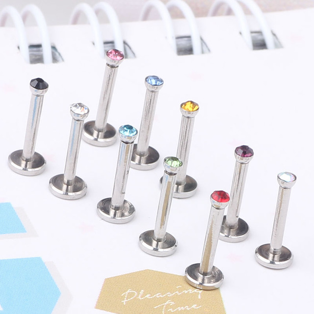 16G Cute and Tiny Monroe Piercing Lip Jewelry