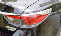Chrome Rear Lamp Taillight Molding Frame Cover Trim For Mazda6 Mazda 6 2013 2014 2015