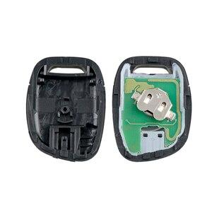 Image 5 - Dzanken 1 bouton télécommande voiture clé 433MHz PCF7946 pour Renault Master Clio Kangoo & transpondeur puce & lame non coupée
