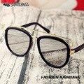2017 new fashion óculos de sol das crianças privadas cara grande óculos de sol espelho sapo crianças grife óculos uv400 alta qualidade enfant