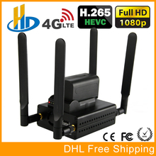 HEVC H.265 /H.264 3G/ 4G LTE 1080P HD HDMI Video Encoder HDMI Transmitter Live Broadcast Encoder wireless H264 IPTV Encoder WIFI