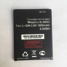 Factory Price BL9003 3.8V 1800mAH Batteria For FLY BL9003 BL 9003 Original Replacement Li-ion Phone Battery FOR fly bl9003
