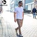 2016 moda homens skinny slim calças hip hop kanye calças impulso lateral com zíper casuais harem pants homens