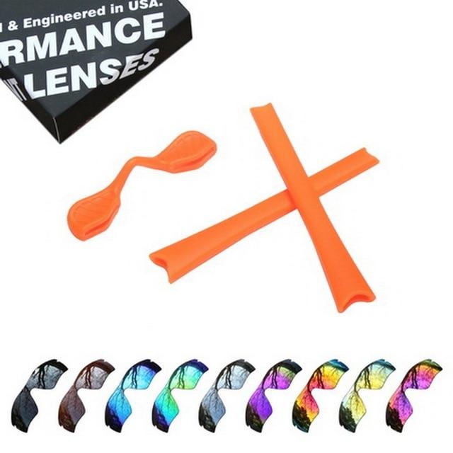 940285b5a3d ToughAsNails Polarized Replacement Lenses   Orange Ear Socks   Nose Pads  for Oakley Radar Path Sunglasses