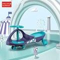 Kinder Drei Rad Balance Auto Roller Tragbare Kein Fuß Pedal Spielzeug Twist Auto ound Universal Rad Schaukel Dreirad Spielzeug 1  3 jahre Lauflernhilfen Mutter und Kind -