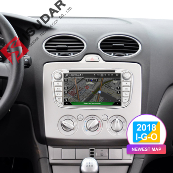 Isudar Car Multimedia Player GPS Android 8 1 2 Din DVD Automotivo For FORD  Focus