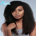 Brazilian Glueless Full Lace Wigs With Baby Hair Kinky Straight Hair,100% Unprocessed Virgin Human Hair Front Lace Wigs