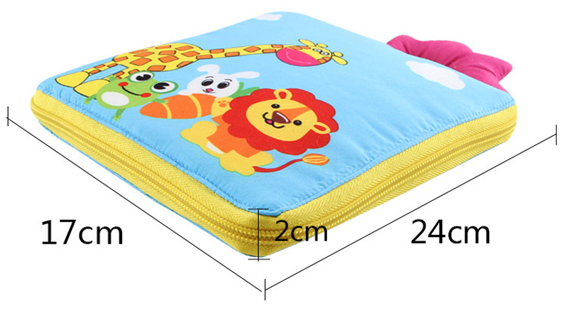 Montessori Toys Educational Toys for Children Early Learning Baby Cognitive Development Infant Intelligence Soft Cloth Fabrics