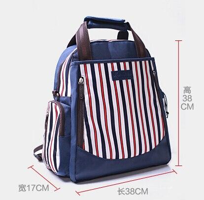 Mummy Bag Shoulder Backpack baby Outdoor Travel Mama Bag diagonal Waterproof Bottle pregnant Large Capacity Multifunctional