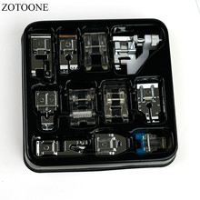 ZOTOONE Multifunction Sewing Machine Presser Foot Spare Parts Accessories Presser Foot Set For Sewing Machine Brother Singer 1 set 12 pieces heidelberg mo printing machine spare parts prevent slip sheet for ps version clamp