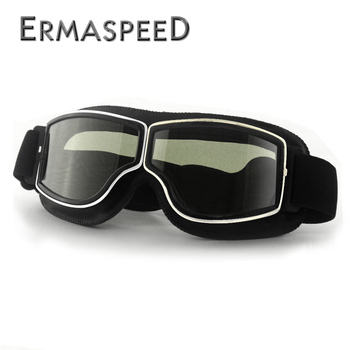 Safety Windproof Motorcycle Glasses Retro Motocross Goggles Eye Protection Cycling Outdoor Dirt Bike Riding Vintage Sunglasses 3