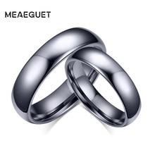Meaeguet Classic Lover's Tungsten Carbide Wedding Rings High