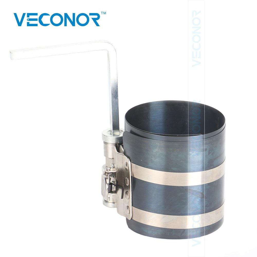 """3 """"compresor de anillo de pistón 53-175mm instalador de banda de trinquete de motor con liberación rápida 15C para llave de coche de 1/4"""""""