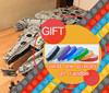 05132 8445Pcs Star Plan Series Wars Ultimate Collector S Model Destroyer Building Bricks Toys Compatible With