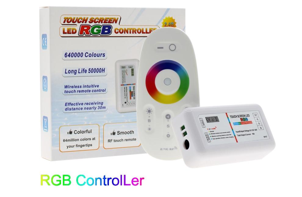 Tela de toque rgb rgbw led controlador