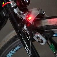 Leds Red Bicycle Rear Light Brake Stop Signal Bike Light Lamp Battery Bicycle Accessories Led Bike Cycling bisiklet aksesuar