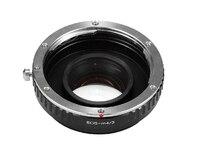 Adaptador de lente Turbo de aumento de velocidad de Reductor Focal para lentes Canon EOS EF a m4/3 mft GF5 GF6 GX1 GX7 EM5 GH4 GH3 BMPCC