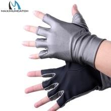Half Finger UV Protection Lycra Sun font b Gloves b font Anti UV Outdoor sports Fishing