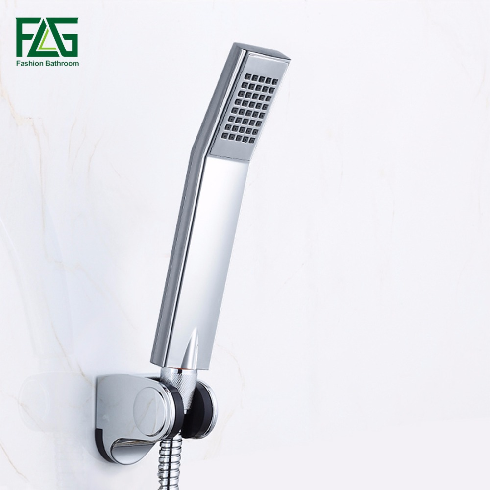 Bathroom accessories Water Saving Shower Heads Chrome Electroplated handheld ABS High pressure showerhead