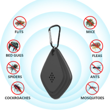 Ultrasonic Mouse snake cockroach Mosquito Killer Outdoor Trap Repellent Outdoors Anti Muggen Mata Electrico