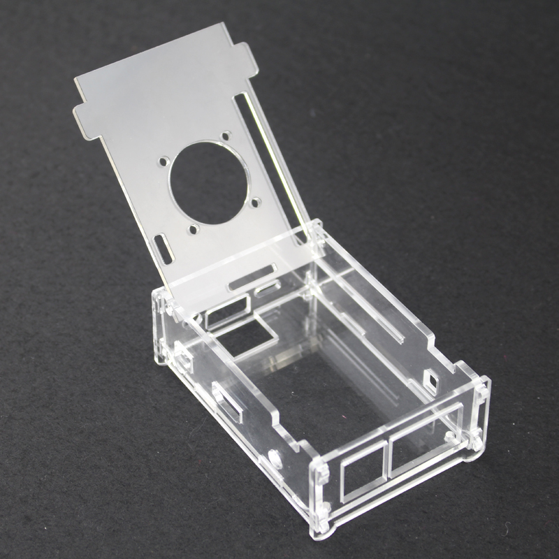 Hot Transparent Acrylic Case For Orange Pi PC Professional Clear Enclosure Cover Shell Box compatible Orange Pi PC Plus